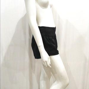 Lululemon Final Lap Woman's Black Mesh Shorts